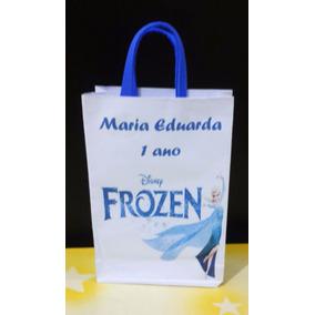50 Sacolinhas Lembrancinhas Frozen Disney 15x10x3,0