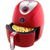 Fritadeira Philco Air Fry Saúde Inox Ph3,2l Vermelha