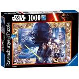Quebra Cabeça Ravensburger - Saga Star Wars - 1000 Peças