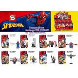 8 Figuras Lego Compatibles De Spiderman Sy688