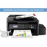 Impresora Multifuncional Fax Epson L575 Escaner Fotocopiado