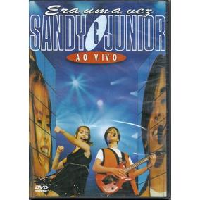Dvd - Sandy E Junior - Era Uma Vez Ao Vivo Cx 321