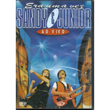 Dvd - Sandy E Junior - Era Uma Vez Ao Vivo Cx 321