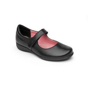 Calzado Zapato Escolar Flexi 35902 Negro Niña