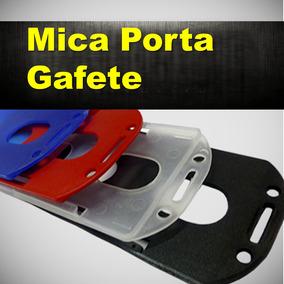 Portacredencial Portagafete Identificación Mica