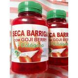 30 Seca Barriga Com Gojy Berry+ Colágeno 50 Cápsulas Cada