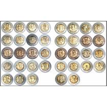 Monedas De $5 Pesos Conmemorativas Bicentenario Y Centenario