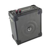 Caixa De Som Amplificada Bluetooth Com Microfone Potente