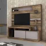 Rack Tv - Home Porto Canela Rustico - Dunas, Mueble
