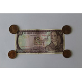 Billete 50 Pesos Colombianos 1986