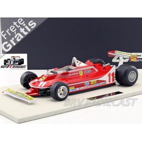 1/12 Gp Replicas Ferrari 312 Jody Scheckter Campeão F1 1979