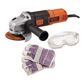 Esmeril Angular Black + Decker - G720k - 4-1/2 820w Maleta
