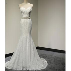 Vestido De Noiva Sereia Tomara Que Caia Renda Sexy