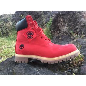 Timberland Botas Caballero Premium 6 In Rojas Waterproof