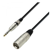 Adam Hall K3bmv0600 Cable Xlr Macho A Jack 6,3 Plug St 6met