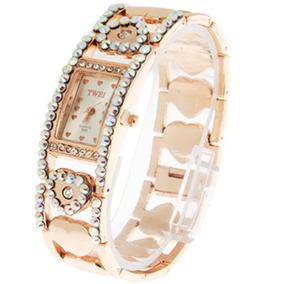 Para Deporte Reloj Diamond Dial Material Cristal Cuarzo