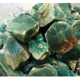 Pedra Preciosa Jade Verde Bruto 3 ~ 8 Cm - Lote 500 Gramas