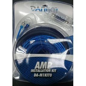 Kit Cable Instalacion Sonido