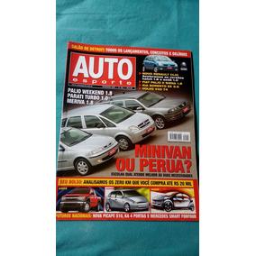 Auto Esporte N°453 Palio Weekend 1.8 * Parati Turbo 1.0 2003