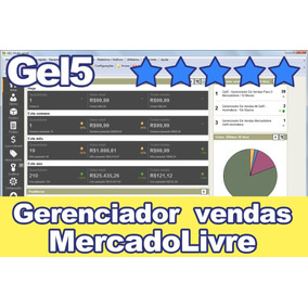 Gel5 - Gerenciador De Vendas Para Mercadolivre - Assinatura