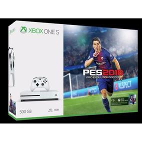Consola Xbox One S 500gb Pro Evolution Soccer 2018 Nueva