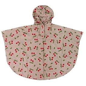 Fvstar Kid Niño Niño Raincoat Cherry Poncho Impermeable H...