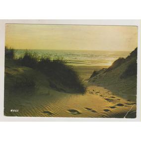 B195 - Cartão Postal Litoral De La Manche França R$ 10,00