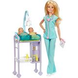 Barbie Pediatra Profissões - Mattel Dvg10