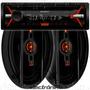Combo Stereo Sony Cdx1150 Usb Cd Mp3+ Parlantes Jbl Flex 6x9
