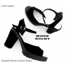 Sandalias 2017 Moon Night Linea Vegana By Elisabeth Remes