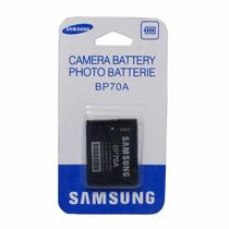 Bateria Para Câmeras Samsung Bp70a 740 Mah