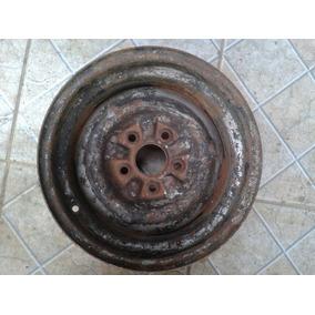 Roda De Ferro Opala Caravan Tala Larga 7,5