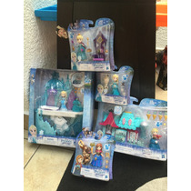 Elsa Y Anna Disney Little Kingdom Castillo Y Casa De Dulces
