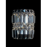 Arandela Vidro Crital Aluminio Complementi Ar1904
