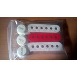 Cubre Cápsulas, Switch Y Perillas Para Stratocaster