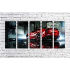 Quadro Decorativo Carro Ferrari Decoração Salas Quartos 08 0ae3ff07af2