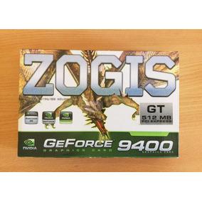 Placa De Vídeo Zogs Nvidia Geforce 9400 Gt 512mb