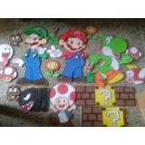 Mario Bros Figuras De Foami