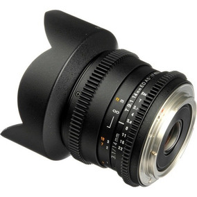 Lente Rokinon 14mm T3.1 Cine Para Canon Ef | Garantia