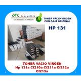 131a Toner Cartucho Vacio Cf210a Cf211a Cf212a Cf213a