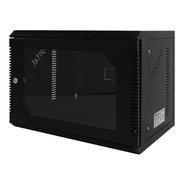 Gabinete Rack 5ru Mini Pared, Puerta Vidrio Negro - Ryctel