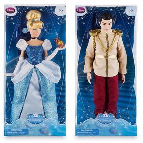 Boneca Cinderela + Principe Charming - Original Disney Store