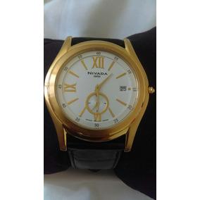 Reloj Nivada Dorado Gc2725g