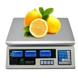 01 Balança Digital Até 40kg Com Bateria Recarregável Bivolt