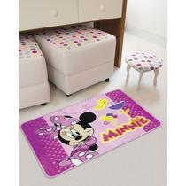 Tapete Minnie Super Macio 80x120 Cm - Disney Jolitex