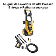 Aluguel De Lavadora De Alta Pressão 1900psi São Paulo