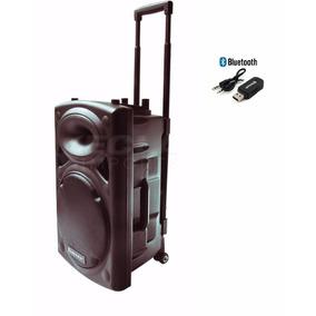 Caixa Ativa 350w Rms Ecopower Amplificada Som