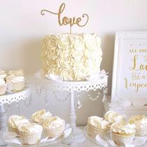 Cake Topper Adorno Torta Love Boda Casamiento Fiesta Cumple