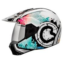Lançamento Capacete Bieffe 3 Sport Spring Azul Motocross