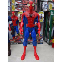 Boneco Vingadores Homem Aranha Hulk Thor 30cm Articulado